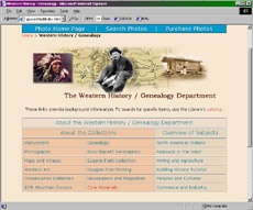 Western History / Genealogy Department - Denver Public Library